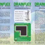 10m tuyau de drainage DN80Jaune perforées et tuyau de 10m filtre F80Kit professionnel de la marque Setaflex image 3 produit