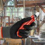 10 Paires de Gants de Travail avec Revêtement Latex Tatendrang I - EN388 - de Freiherr, Taille S de la marque Freiherr image 3 produit