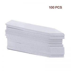 100x Étiquettes Piquet à Planter pour Plantes / Pots / Culture (10cm) de la marque ECO image 0 produit