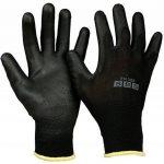 12paires de gants en nylon Taille 9Gants Gants de travail Vêtements Gants de protection de construction (L (Large) de la marque SBS image 1 produit