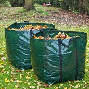 2 x Garden Sac à déchets Chemical Sac de gazon et réutilisable Taille L de la marque Speedwellstar image 0 produit