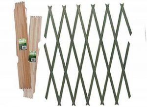 2x Laiton Épinglées Treillis Bois 180cm x 60cm naturel de la marque inker image 0 produit