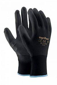 24paires de sécurité avec revêtement noir Gants de travail Jardin Grip pour homme Builders Jardinage de la marque Générique image 0 produit