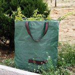 270 Litres Grand Sac Déchets de Jardin Polypropylène Robuste Sac Jardin Réutilisable Verts (3 pcs) de la marque seebesteu image 1 produit