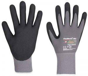3 Paires de Gants de Travail FlexMech EN388 - Gants de Protection Gants de Mécanicien Pour Travaux Humides et Huileux et Risques Mécaniques de la marque KCL image 0 produit