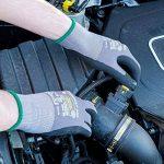 3 Paires de Gants de Travail FlexMech EN388 - Gants de Protection Gants de Mécanicien Pour Travaux Humides et Huileux et Risques Mécaniques de la marque KCL image 3 produit