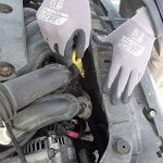 3 Paires Gants de travail Nitras 8800 EN 388 Ajustement flexible - Gants de mécanicien Gants de montage Gants de protection Gants de jardinage Gants multi-fonctions - noir / gris, M de la marque Nitras image 3 produit