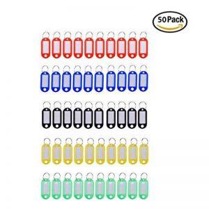 50pcs clés étiquettes étanche Pet ID Tags avec étiquettes Nom pour la gestion des clés ou étiquettes à bagages de la marque Petall image 0 produit