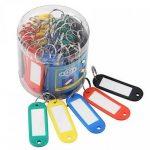 50pcs clés étiquettes étanche Pet ID Tags avec étiquettes Nom pour la gestion des clés ou étiquettes à bagages de la marque Petall image 3 produit