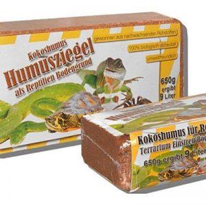 6 x 650 grammes de litière en noix de coco fond pour terrarium des reptiles fond en noix de coco humus de noix de coco briques à la noix de coco fibres à noix de coco briques en noix de coco -fin- de la marque Grosshandel & Direktimport Thekla Fuhrmann image 0 produit