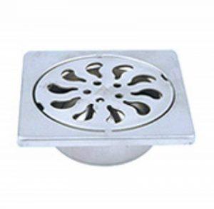 Acier Inox vidange de douche avec siphon amovible drain de plancer 100x100mm pour douche à l'italienne de la marque de lanwa image 0 produit