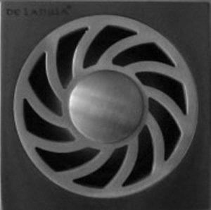 Acier Inox vidange de douche avec siphon amovible drain de plancer 100x100mm pour douche à l'italienne Lavage machine à de la marque de lanwa image 0 produit