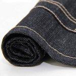 AINOLWAY Tablier de cuisine en denim avec poches pratiques - Unisexe, Coton, bleu, 62*60cm de la marque AINOLWAY image 3 produit