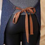 Aivtalk Femme Tablier Longue en Denim Licou Réglable Tablier en Jeans pour Cuisine Restaurant Café 71*65cm de la marque Aivtalk image 4 produit