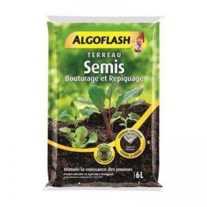 ALGOFLASH ATSEB6 Terreau Semis/Bouturage/Repiquage, Vert, 6 L de la marque Algoflash image 0 produit