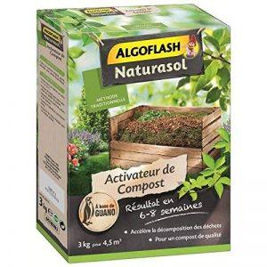 ALGOFLASH NATURASOL ACTIBIO3 Activateur de ALGOFLASH NATURASOLst à Base de Guano 3 Kg, Vert, 23.5 x 7.65 x 32 cm de la marque ALGOFLASH-NATURASOL image 0 produit