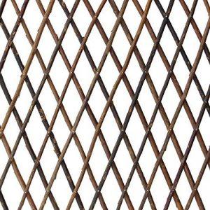 amelex 67 Grille variable, treillis en osier naturel flexible, grosseur variable, utilisable verticalement ou horizontalement, repliable de la marque amelex 67 image 0 produit