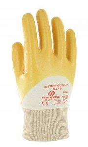 Ansell Nitrotough N210 Gants pour usages multiples, protection mécanique, Jaune de la marque Ansell image 0 produit