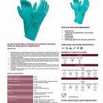 Ansell Sol-Vex 37-676 Gants en nitrile, protection contre les produits chimiques et les liquides, Vert, Taille 9 (Sachet de 12 paires) de la marque Ansell image 1 produit