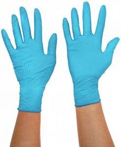 Ansell TouchNTuff 92-670 Gants en nitrile, protection contre les produits chimiques et les liquides, Bleu de la marque Ansell image 0 produit