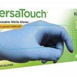 Ansell VersaTouch 92-200 Gants en nitrile, protection contre les produits chimiques et les liquides, Bleu de la marque Ansell image 1 produit