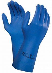 Ansell Virtex 79-700 Gants en nitrile, protection contre les produits chimiques et les liquides, Bleu de la marque Ansell image 0 produit
