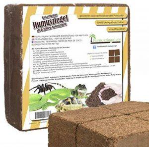 Bloc de 70l de substrat de noix de coco pour terrarium - Sans tourbe de la marque Humusziegel image 0 produit