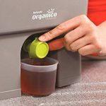 Bokashi Organico Eco Poubelle Set de déchets organiques avec Bran activateur - Grand, 2 x 16 litres Composteurs pour déchets de cuisine - Sans odeur de la marque Skaza - mind your eco image 4 produit