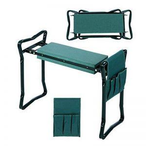 Busyall Pliable Garden Repose-Genoux et Assise avec Bonus Outil Pouch Portable Tabouret EVA Pad (EU Stock) Vert de la marque Busyall image 0 produit