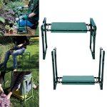 Busyall Pliable Garden Repose-Genoux et Assise avec Bonus Outil Pouch Portable Tabouret EVA Pad (EU Stock) Vert de la marque Busyall image 1 produit