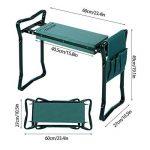 Busyall Pliable Garden Repose-Genoux et Assise avec Bonus Outil Pouch Portable Tabouret EVA Pad (EU Stock) Vert de la marque Busyall image 2 produit