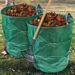 CampTeck 2x 500 Litres Sac de Déchets de Jardin Polypropylène Robuste Sac Jardin Réutilisable de la marque CampTeck image 3 produit