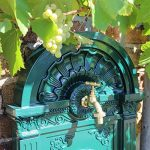 CLGarden WZS5 Fontaine Pompe Fontaine murale Eau Robinet Support pour jardin de la marque CLGarden image 2 produit