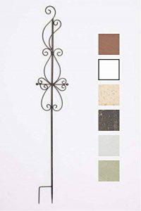 CLP Tige de rang pour plantes magnifique BLANKA en fer, hauteur: 126 cm, idéal pour les plantes grimpantes bronze de la marque CLP image 0 produit