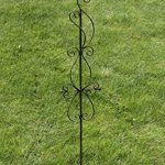 CLP Tige de rang pour plantes magnifique BLANKA en fer, hauteur: 126 cm, idéal pour les plantes grimpantes bronze de la marque CLP image 3 produit