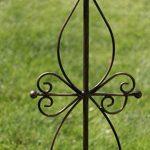 CLP Tige de rang pour plantes magnifique BLANKA en fer, hauteur: 126 cm, idéal pour les plantes grimpantes bronze de la marque CLP image 4 produit