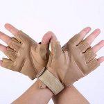Codomoxo® Gants Tactiques de l'armée Militaire Des Forces Spéciales En Plein Air Demi-Doigt Unisexe de Mi Saison 1/2 Feu Finger Gym Combat résistant aux Coupures Gants de Fitness En Cuir de la marque codomoxo image 3 produit