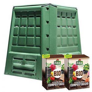 Composteur ecobox Fast 380Lt + 2boîtes de Activateur compost kg 4 de la marque AzimuthCompost image 0 produit