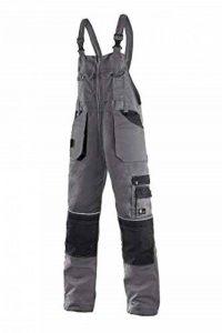 CXS Pantalon de Travail Krystof pour Homme avec Poches Genouillères - Très Robuste Pantalon de Travail Robuste avec Bretelles Pantalons de Jardin Cargo Salopettes de Travail de la marque CXS image 0 produit