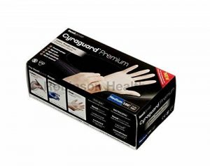 Cyraguard Essentials Lot de 100gants en latex disponibles en plusieurs tailles. de la marque Robinson-Healthcare image 0 produit