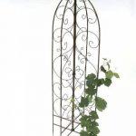DanDiBo Support pour plantes grimpantes 120005 pliable Treillis en métal H-160cm D-50cm Support pour plantes grimpantes Clôture de la marque DanDiBo image 3 produit