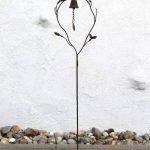 DanDiBo Support pour plantes grimpantes avec Cloche JD2-12020 Treillis en métal H-130cm B-28cm Support pour plantes grimpantes de la marque DanDiBo image 4 produit