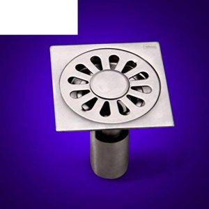 Des cerveaux désodorisant toilettes Rondelle de cuivre à drainer Salle de douche drain de sol en acier inoxydable 100 * 100mm-B de la marque MML YSPJ image 0 produit