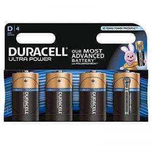Duracell Ultra Power Piles Alcalines type D, Lot de 4 de la marque Duracell image 0 produit