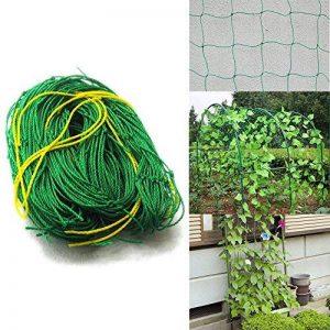 Filet de jardin, support pour plantes grimpantes Net 10*10cm en maille filet pour plante, animal, végétal protection 3.6x1.8m 3.6x1.8m de la marque GoodFaith image 0 produit