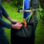 Fiskars Sac à végétaux pliable avec poignées, Capacité: 56 litres, Noir/Orange, Solid, 1015646 de la marque Fiskars image 3 produit