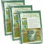 FiveSeasonStuff 3 sacs de déchets de jardin (272 litres), grand lourds devoir double coudre réutilisables sacs avec arceau de stabilisation flexible de la marque FiveSeasonStuff image 1 produit