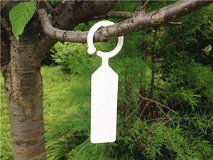 G2PLUS 100pcs Plante Arbre étiquettes en plastique épais marqueurs Nursery Jardin étiquettes pour jardinier blanc de la marque G2PLUS image 0 produit