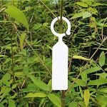 G2PLUS 100pcs Plante Arbre étiquettes en plastique épais marqueurs Nursery Jardin étiquettes pour jardinier blanc de la marque G2PLUS image 1 produit