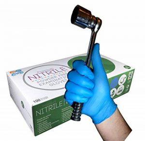gant jetable nitrile bleu TOP 10 image 0 produit